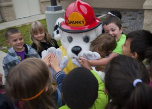 Child care safety standards - Sparky and children